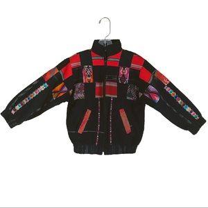 Jackets & Coats - Aztec Printed Colorful Jacket